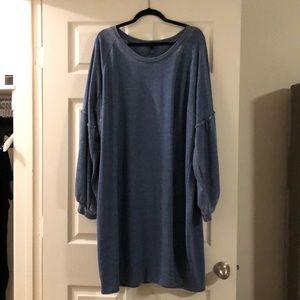 Lane Bryant Sweatshirt Dress